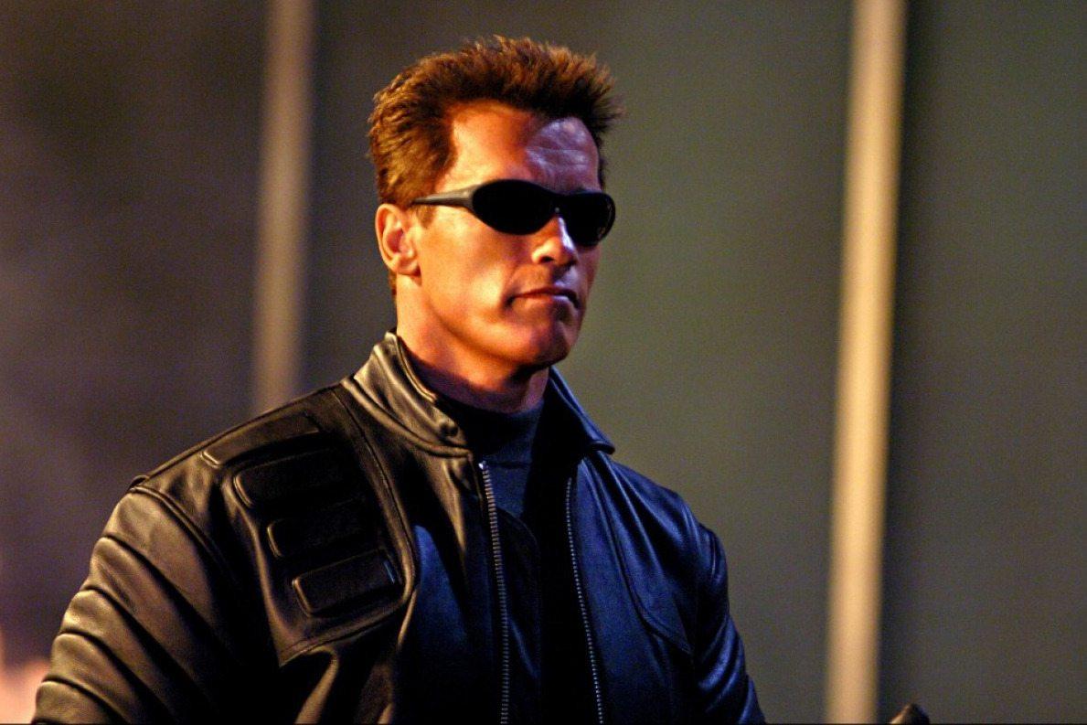 Arnold Schwarzenegger's height terminator