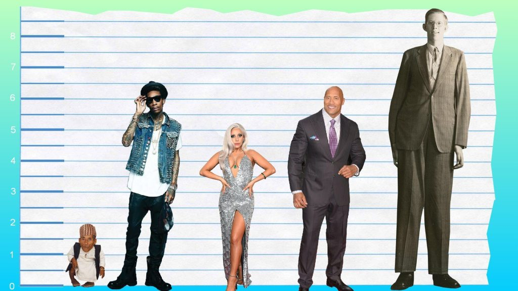 Wiz Khalifa's height compare