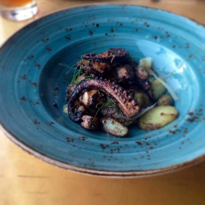 #1. #HeightsPizza #SeminoleHeights Braised octopus alexandramarie85 -  RATING: 3.44