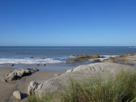 Strand nach rechts