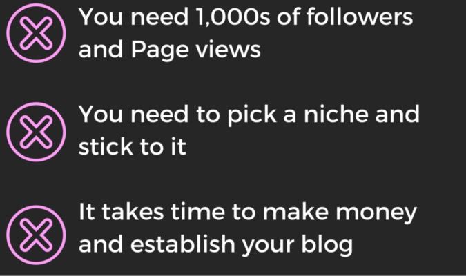 the blogging myths