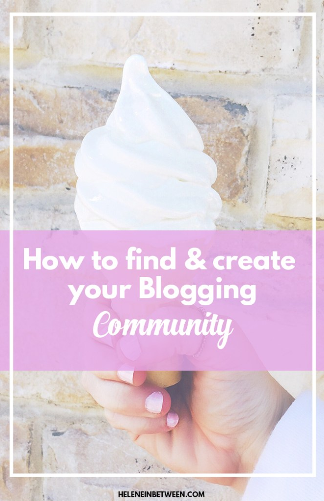 How to find and create your Blogging Community