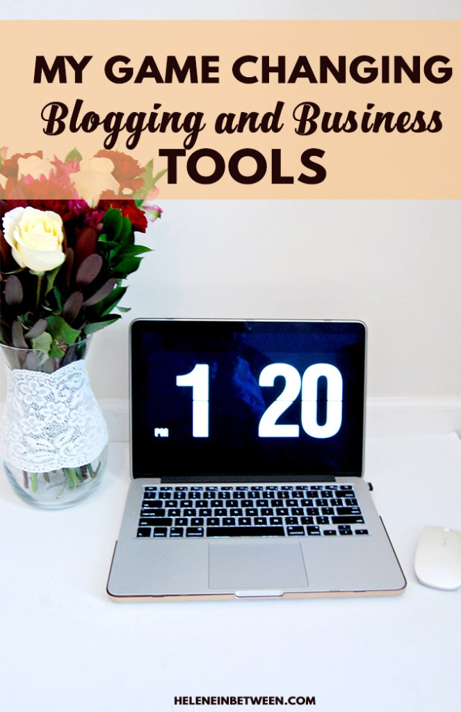 My Game Changing Blogging and Business Tools
