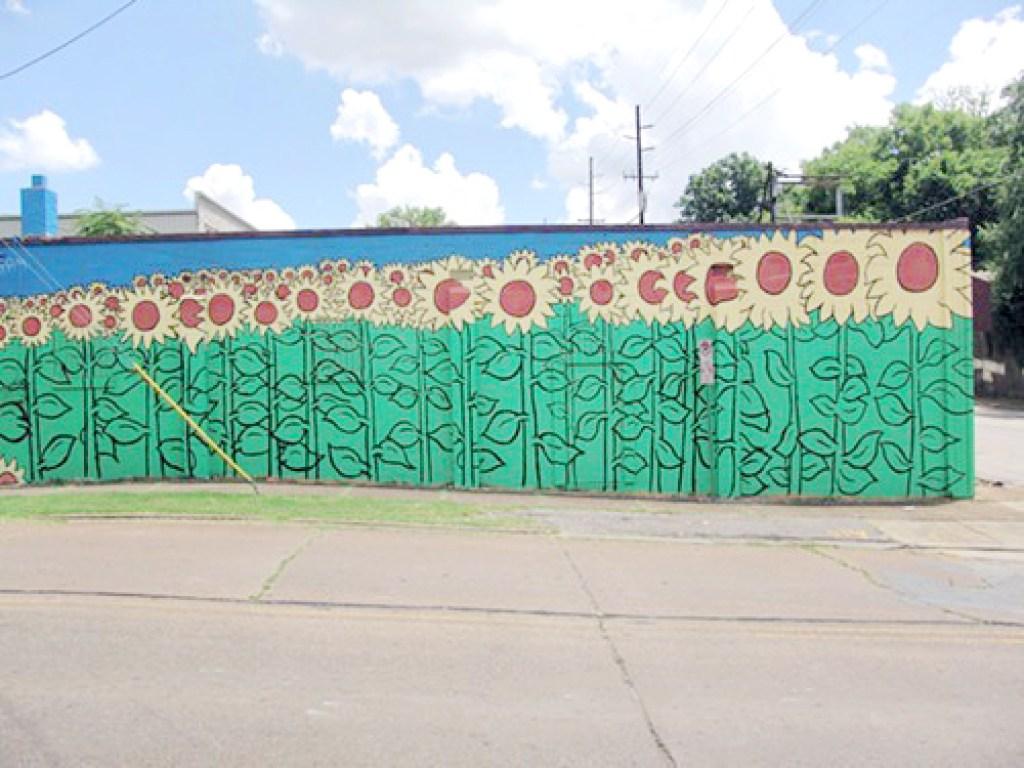 Import Flowers Nashville Mural