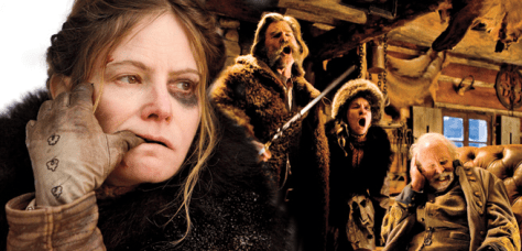"""The Hateful Eight"" is Violent"