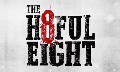 """The Hateful Eight"" with Cowboy Font"