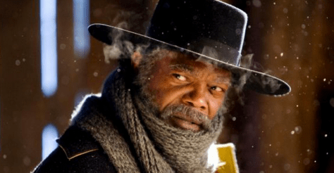 "Samuel Jackson in ""The Hateful Eight"""