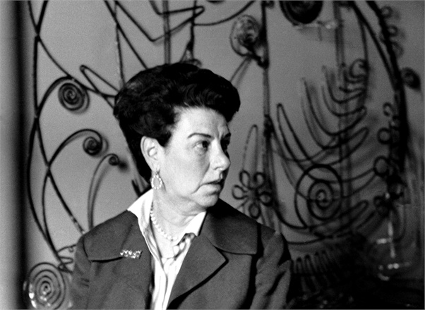 "Peggy Guggenheim ""gutsed out"" her bad nose."