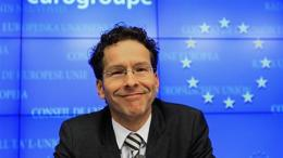Netherlands' Finance Minister Dijsselbloem holds his first news conference after being appointed new Eurogroup Chairman in Brussels