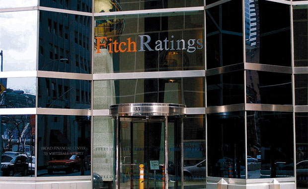 A file photograph showing a view of the offices of Fitch Ratings in New York, USA. EPA, JUSTIN LANE