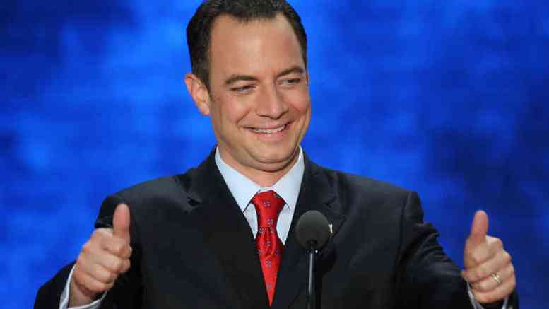 Republican National Committee Chairman Reince Priebus.  EPA, MICHAEL REYNOLDS