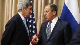 Οι υπουργοί Εξωτερικών των ΗΠΑ και της Ρωσίας, Κέρι και Λαβρόφ. Φωτογραφία State Department