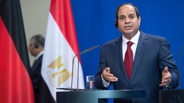 Egyptian President Abdel Fattah al-Sisi. EPA, BERND VON JUTRCZENKA