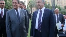 ΦΩΤΟΓΡΑΦΙΑ ΑΡΧΕΙΟΥ: Ο Πρόεδρος της Δημοκρατίας κ. Νίκος Αναστασιάδης και Mustafa Akinci . ΚΥΠΕ/ΚΑΤΙΑ ΧΡΙΣΤΟΔΟΥΛΟΥ