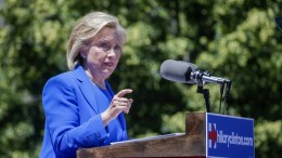 US presidential candidate Hillary Clinton. EPA, ANDREW GOMBERT EPA/ANDREW GOMBERT