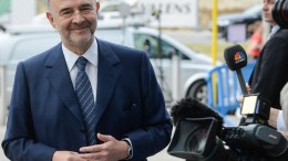 European Commissioner in charge of Economic and Financial Affairs, Pierre Moscovici. EPA, STEPHANIE LECOCQ