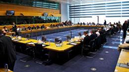 Φωτογραφία αρχείου: Συνεδρίαση του Eurogroup στις Βρυξέλλες. ΑΠΕ-ΜΠΕ, European Union, Christos DOGAS