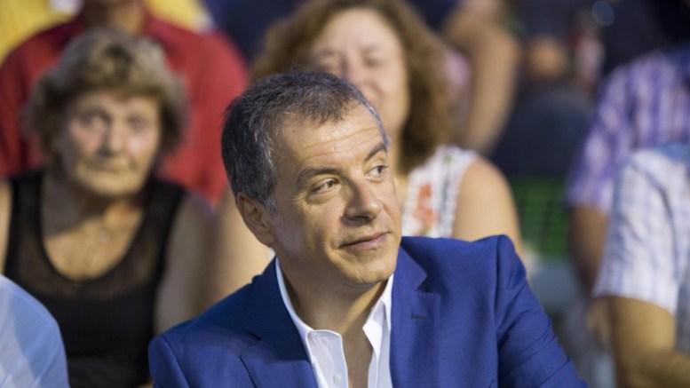 File Photo: Ο επικεφαλής του Ποταμιού, Σταύρος Θεοδωράκης ΑΠΕ-ΜΠΕ