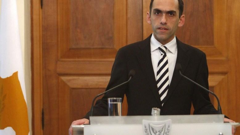 Ο υπουργός Οικονομικών της Κύπρου Χάρης Γεωργιάδης. ΦΩΤΟΓΡΑΦΙΑ ΑΡΧΕΙΟΥ. ΑΠΕ-ΜΠΕ, ΚΥΠΕ, ΚΑΤΙΑ ΧΡΙΣΤΟΔΟΥΛΟΥ