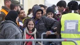 FILE PICTURE. Refugees arrive at Slovenia, ready to enter to Austria. EPA/ERWIN SCHERIAU