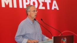 Ο Παναγιώτης Ρήγας μιλάει στην συνεδρίαση της ΚΕ του ΣΥΡΙΖΑ. Φωτογραφία αρχείου. ΑΠΕ-ΜΠΕ/ΑΠΕ-ΜΠΕ/Παντελής Σαίτας
