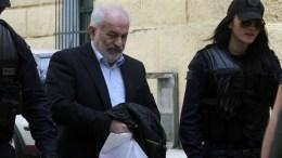 Σφοδρή επίθεση κατά των συγκατηγορουμένων του Βίκυς Σταμάτη και Άκη Τσοχατζόπουλου στο δευτεροβάθμιο δικαστήριο για τα εξοπλιστικά από τον Γιάννη Σμπώκο. ΦΩΤΟΓΡΑΦΙΑ ΑΡΧΕΙΟΥ.  ΑΠΕ-ΜΠΕ/Παντελής Σαίτας