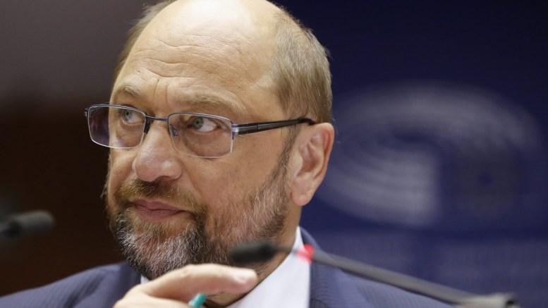 President of the European Parliament, Martin Schulz. EPA, OLIVIER HOSLET