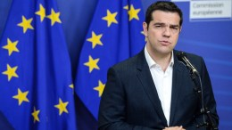 File picture. Greek Prime Minister Alexis Tsipras .  EPA, STEPHANIE LECOCQ