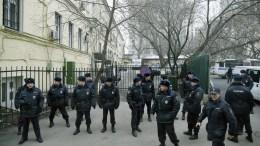 FILE PHOTO. Russian policemen in Moscow, Russia. EPA/YURI KOCHETKOV