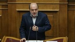 Ο αναπληρωτής υπουργός Οικονομικών Τρύφωνας Αλεξιάδης στη Βουλή. ΑΠΕ - ΜΠΕ, Αλέξανδρος Μπελτές