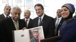 Ο Πρόεδρος της Δημοκρατίας κ. Νίκος Αναστασιάδης επισκέφθηκε το Δημαρχείο του Αμμάν. Φωτογραφία ΑΒΡΡΑΜΙΔΗΣ