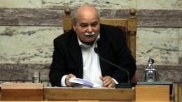 Ο πρόεδρος της Βουλής Νίκος Βούτσης. ΑΠΕ-ΜΠΕ, ΣΥΜΕΛΑ ΠΑΝΤΖΑΡΤΖΗ