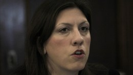 Η πρώην πρόεδρος της Βουλής Ζωή Κωνσταντοπούλου. ΑΠΕ-ΜΠΕ, ΟΡΕΣΤΗΣ ΠΑΝΑΓΙΩΤΟΥ