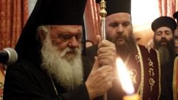 Ο Αρχιεπίσκοπος Αθηνών Ιερώνυμος. ΑΠΕ-ΜΠΕ, ΑΛΕΞΑΝΔΡΟΣ ΒΛΑΧΟΣ