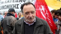 Ο επικεφαλής της Λαϊκής Ενότητας Παναγιώτης Λαφαζάνης. Φωτογραφία αρχείου, ΑΠΕ-ΜΠΕ, Παντελής Σαΐτας