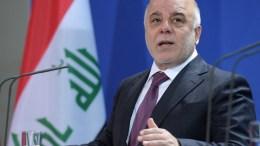 FILE PHOTO. Iraqi Prime Minister Haider al-Abadi. EPA/RAINER JENSEN