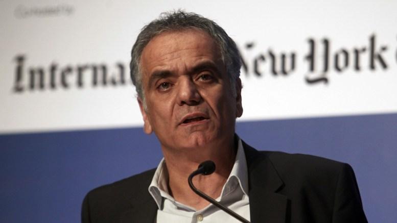 Ο υπουργός Εσωτερικών, Πάνος Σκουρλέτης. Φωτογραφία ΑΠΕ-ΜΠΕ, ΑΛΕΞΑΝΔΡΟΣ ΒΛΑΧΟΣ