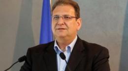 Ο αναπληρωτής κυβερνητικός εκπρόσωπος Βίκτωρας Παπαδόπουλος. Φωτογραφία Φιλελεύθερος