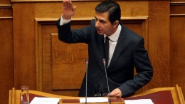 Ο βουλευτής της Νέας Δημοκρατίας Κώστας Γκιουλέκας. ΑΠΕ ΜΠΕ/ΠΑΝΤΕΛΗΣ ΣΑΪΤΑΣ