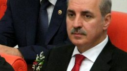 Ο Τούρκος αντιπρόεδρος υπεύθυνος για ευρωπαϊκά θέματα Νουμάν Κουρτλουμούς. EPA/STR