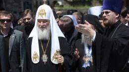 ΦΩΤΟΓΡΑΦΙΑ ΑΡΧΕΙΟΥ. Ο Πατριάρχης Μόσχας και Πάσης Ρωσίας Κύριλλος κατά την διάρκεια της επίσκεψης του στο Άγιο Όρος. ΑΠΕ-ΜΠΕ, ΝΙΚΟΣ ΑΡΒΑΝΙΤΙΔΗΣ