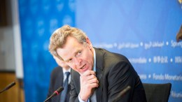 FILE PHOTO: European Department Director Poul Thomsen.  Photo Roxana Bravo, IMF Photo