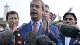 FILE PHOTO.Former leader of the United Kingdom (UK) Independence Party Nigel Farage. EPA/HANNAH MCKAY