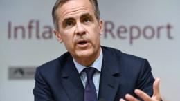 Bank of England Governor Mark Carney. EPA/ANDY RAIN