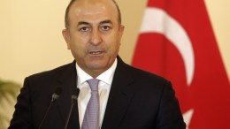 Turkish Foreign Minister Mevlut Cavusoglu. EPA, M.A.PUSHPA KUMARA