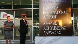 Ο Πρόεδρος της Κυπριακής Δημοκρατίας Νίκος Αναστασιάδης απευθύνει χαιρετισμό σε εκδήλωση για την ονοματοδοσία του Αεροδρομίου Λάρνακας σε «Διεθνής Αερολιμένας Λάρνακας Γλαύκος Κληρίδης». Φωτογραφία ΣΤΑΥΡΟΣ ΙΩΑΝΝΙΔΗΣ
