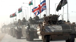 A handout photograph  showing British forces on Iraq. EPA/MOD CPL STEVE FOLLOWS CROWN COPYRIGHT / HO MANDATORY CREDIT - EDITORIAL USE ONLY NO SALES