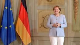 German Chancellor Angela Merkel. EPA MAURIZIO GAMBARINI