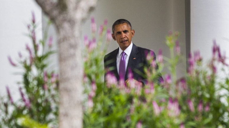File Photo: US President Barack Obama walks through the Colonnade on the way from his residence to the Oval Office at the White House in Washington, DC, USA. EPA, JIM LO SCALZO