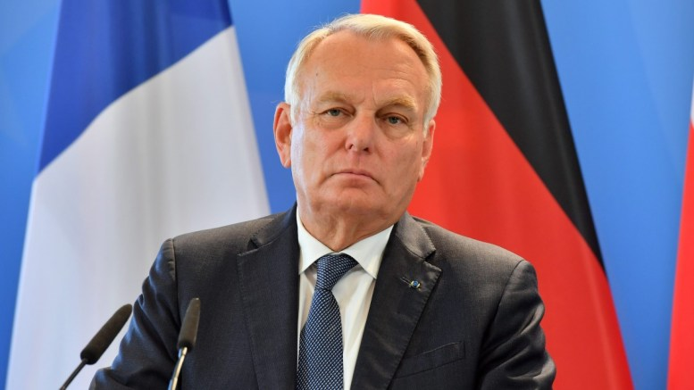 The Foreign Minister of France Jean-Marc Ayrault.  EPA/MARTIN SCHUTT